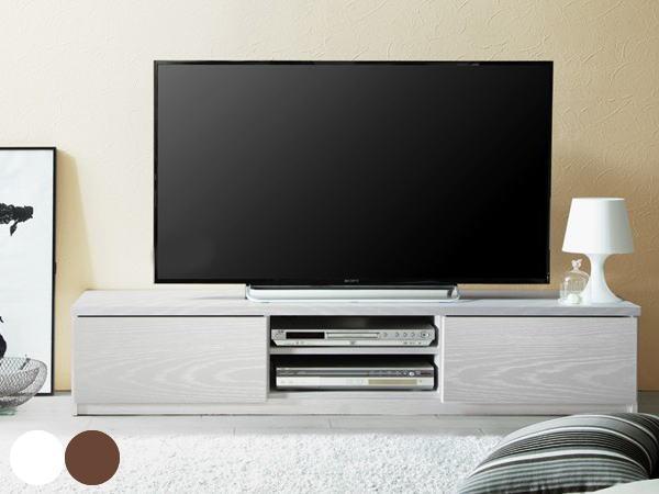 STERA(ステラ)150幅背面収納テレビ台(キャスター付き)