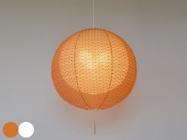 二重提灯 日本製和紙照明 3灯ペンダントライト 55cmタイプ