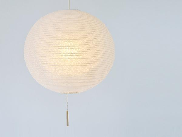 日本製和紙照明 二重提灯BUD(バッド)1灯ペンダントライト