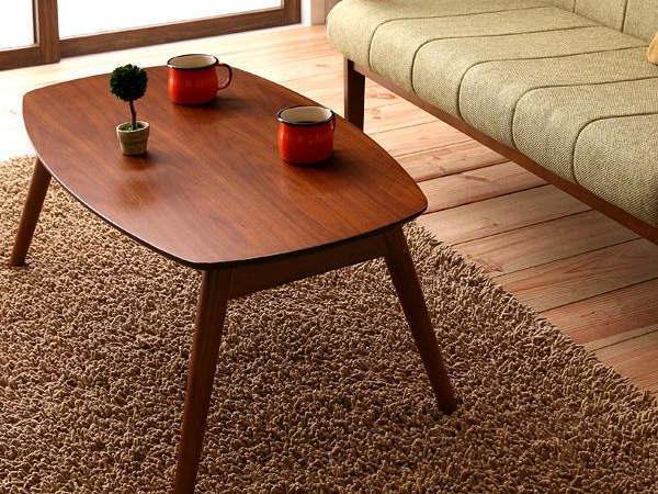 90cm幅 REMOT(レモット)ウォールナットテーブル(折りたたみ式)