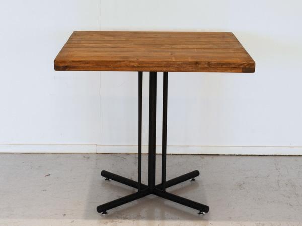 KELT(ケルト)パイン無垢・アイアン カフェテーブル