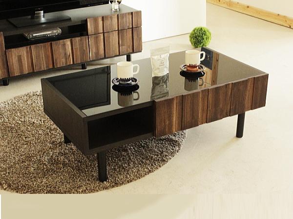 RESE(レセ)アカシア材無垢センターテーブル