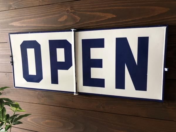FRIP SIGN(フリップサイン)OPEN/CLOSEサインプレート