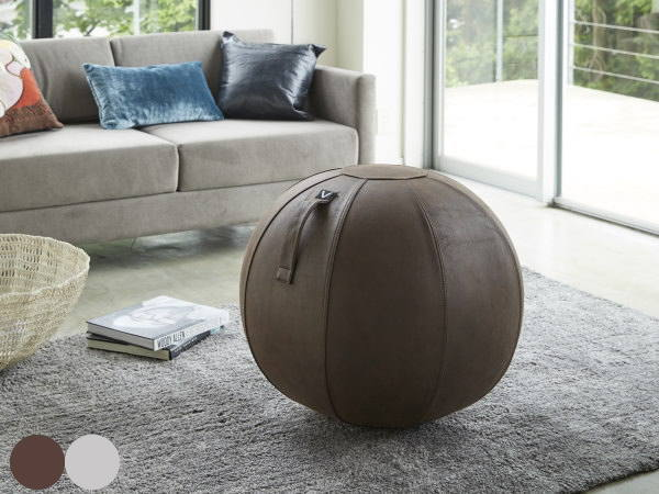 VIVORA(ビボラ)シーティングボール(バランスボール) レザーレットシリーズ