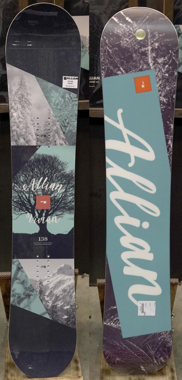 国内最安値!限定1★正規品大特価★アライアン(ALLIAN)【VIVIAN】 18-19 スノーボード 2019年