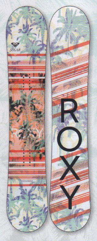 ★早期予約大特価★ROXY[ロキシー] 【SUGAR】 17-18スノーボード 2018年NEWモデル