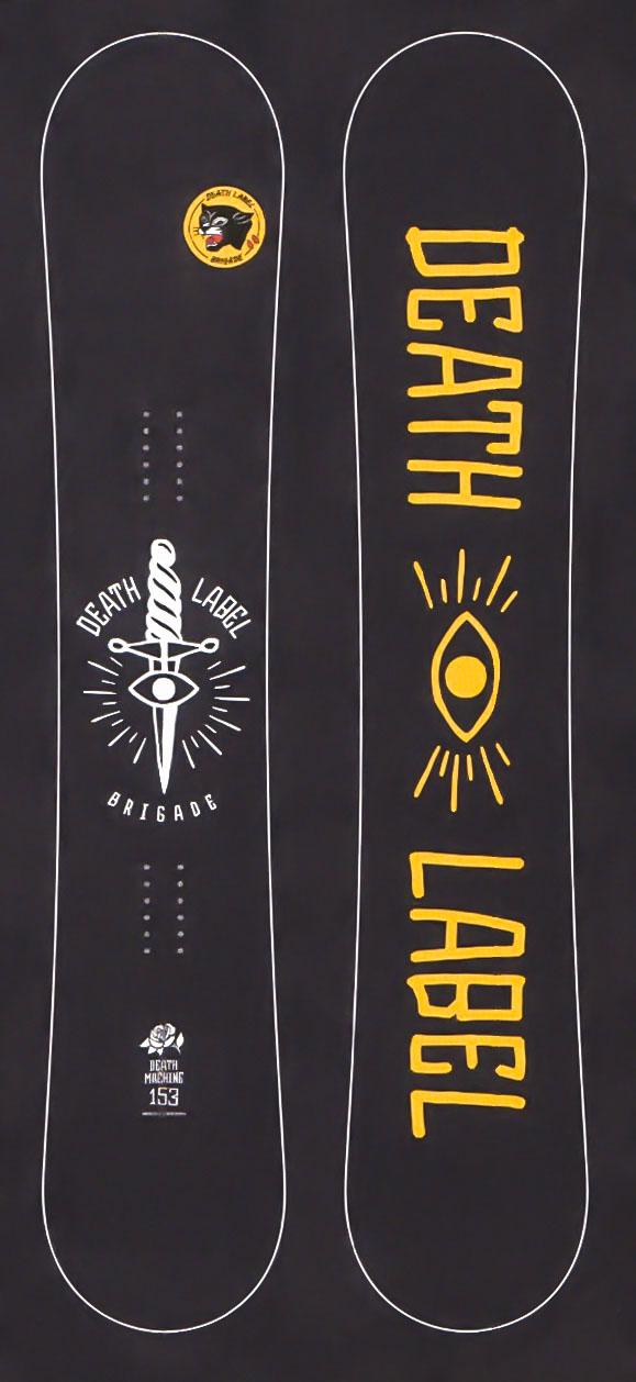 1本限定★大特価★デスレーベル(DEATH LABEL)【DEATH MACHINE】 17-18スノーボード 2018年