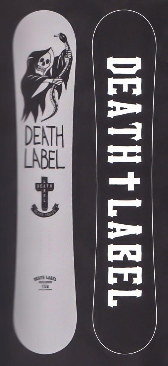 限定1★スーパーセール大特価★デスレーベル(DEATH LABEL)【DEATH SERIES】 17-18スノーボード 2018年