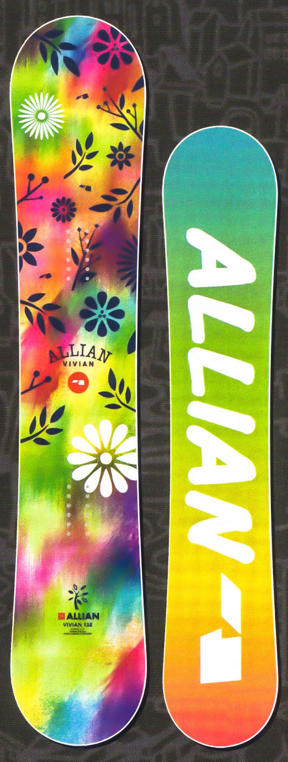 在庫処分セール!★各1本限定!大特価★アライアン(ALLIAN)【VIVIAN】 17-18スノーボード 2018年