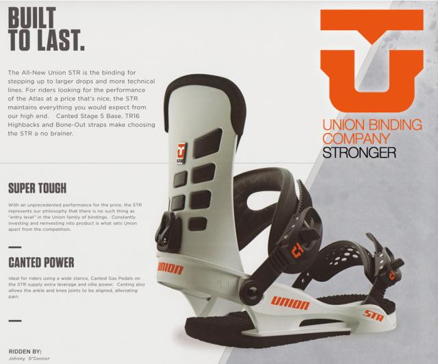 ★大特価★ユニオン(UNION)【STR】 17-18スノーボード 2018年