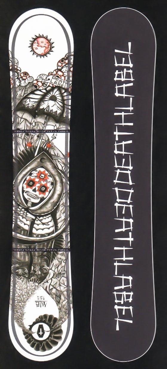 限定1!大特価★デスレーベル(DEATH LABEL)【MEN IN BLACK】 17-18スノーボード 2018年