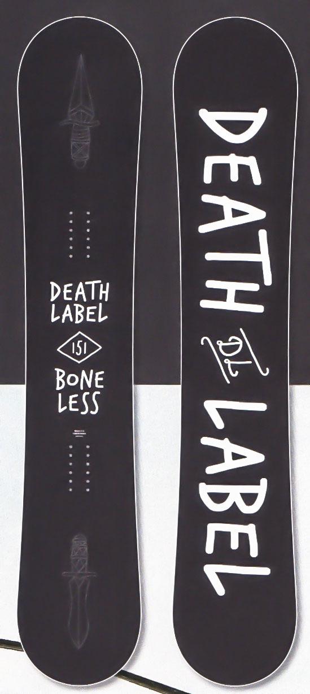 在庫処分★大特価★デスレーベル(DEATH LABEL)【BONELESS】 17-18スノーボード 2018年