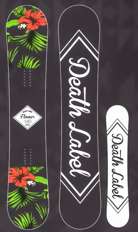 在庫処分 売り尽くしセール!各1本限定★大特価★デスレーベル(DEATH LABEL)【FLOWER】 17-18スノーボード 2018年