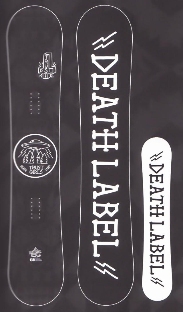 在庫処分セール!各1本限定★大特価★デスレーベル(DEATH LABEL)【TRUST GIRLS】 17-18スノーボード 2018年