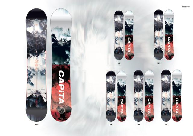 ★早期予約大特価★キャピタ(CAPiTA)【OUTERSPACE LIVING】 17-18スノーボード 2018年
