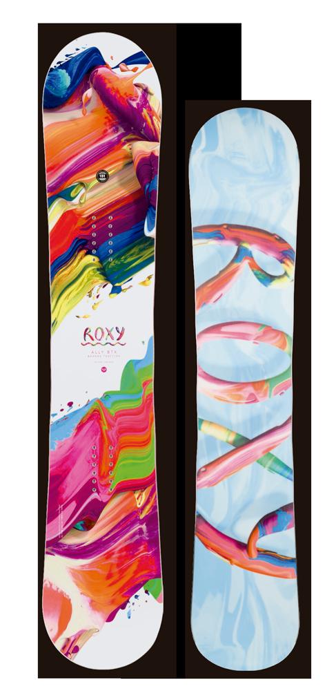 ★早期予約大特価★ROXY[ロキシー] 【ALLY】 14-15 スノーボード 2015年NEWモデル