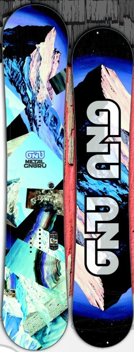 GNU[グヌー] 【METAL GNURU】 15-16 スノーボード 2016年NEWモデル
