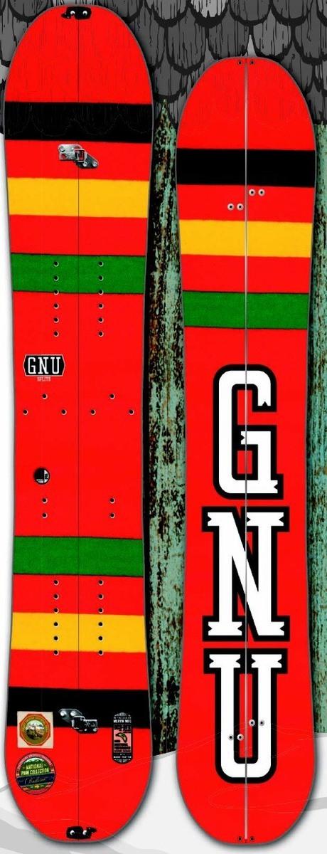 グヌー(GNU)【BEAUTY SPLIT】 15-16 スノーボード 2016年