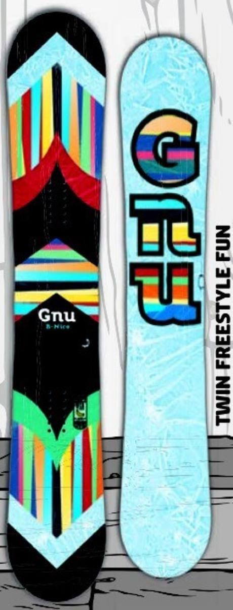 グヌー(GNU)【B-NICE PATTERN】 15-16 スノーボード 2016年