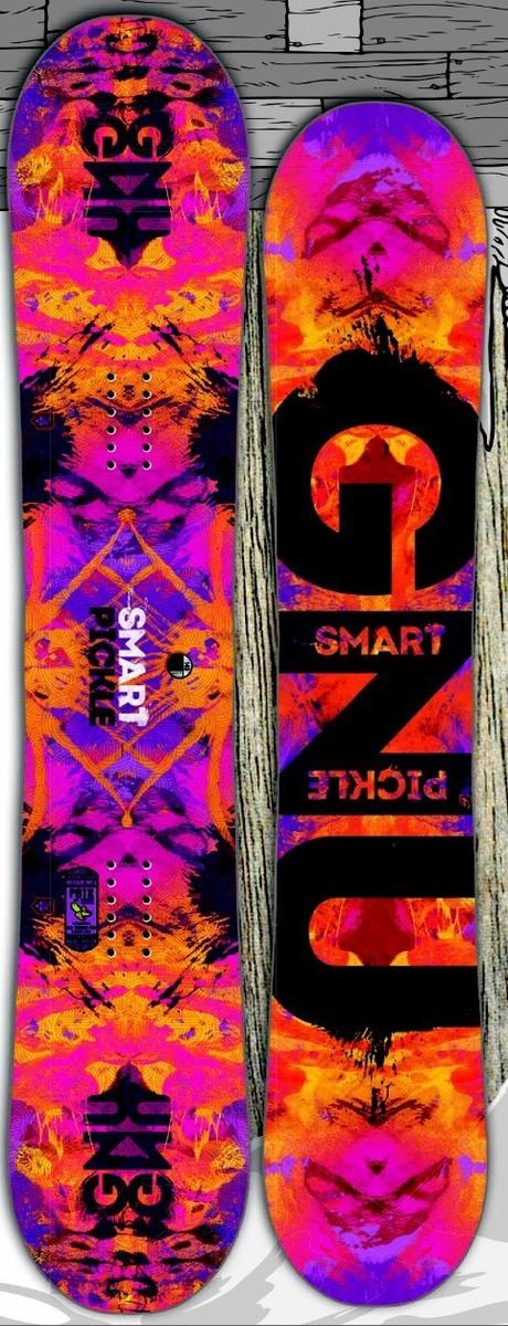 グヌー(GNU)【WOMENS SMART PICKLE】 15-16 スノーボード 2016年