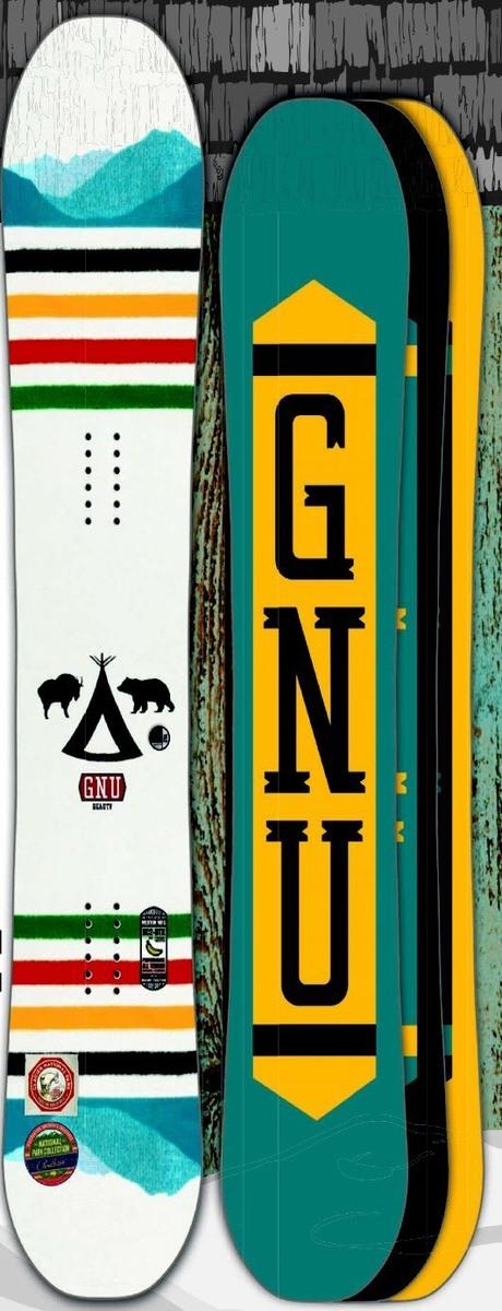 グヌー(GNU)【BEAUTY】 15-16 スノーボード 2016年