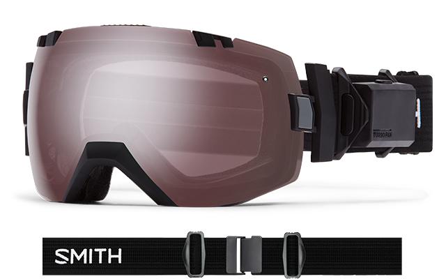 スミス(SMITH)I/OX TURBO FAN BLACK(IGN/RDSM) 大特価!!30%OFF!!16-17New モデル