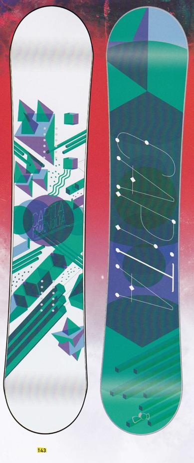 大特価★限定1本★キャピタ(CAPITA)【MAGNOLIA】 15-16スノーボード 2016年