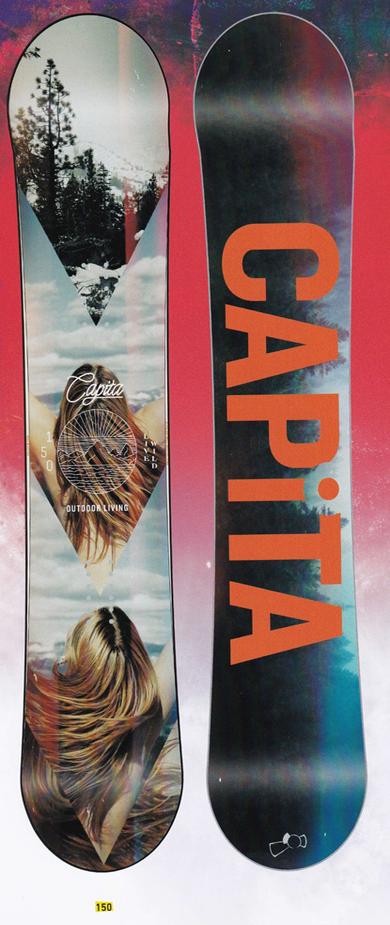 キャピタ(CAPITA)【OUTDOOR LIVING】 15-16スノーボード 2016年