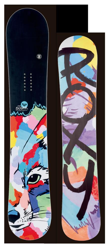 限定1★大特価★ROXY[ロキシー] 【SUGAR FOX】 14-15 スノーボード 2015年NEWモデル
