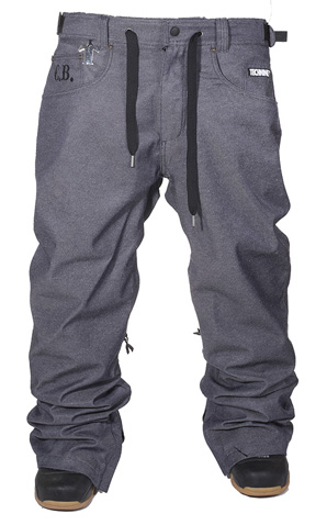 テックナイン(TECHNINE)2011-2012 Bradshaw Denim Pants (Shell)