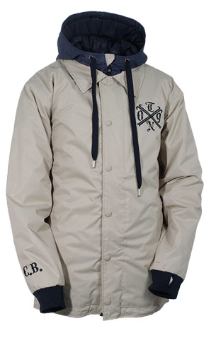 テックナイン(TECHNINE)2011-2012 Bradshaw Coaches Jacket (Insulated)