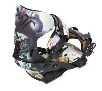 テックナイン(TECHNINE)2011 TK Pro Snowman Bindings  Scrub Hook(ハネ付き)