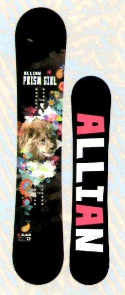 新春セール!各1本限定★大特価★ALLIAN[アライアン] 【PRISM GIRL】 15-16 スノーボード