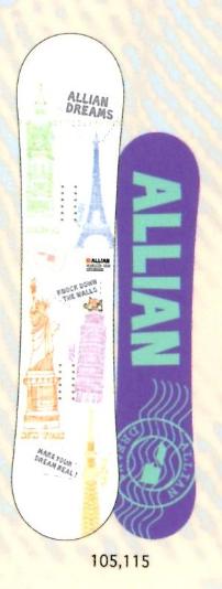 48時間セール★早期予約★大特価★ALLIAN[アライアン] 【DREAMS】 15-16 スノーボード