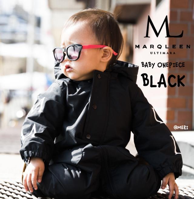 マークリーン(MARQLEEN)BABY ONE PIECE カラー:BLACK 18-19モデル