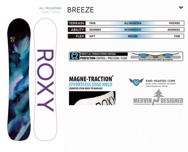 ROXY 20-21 BREEZE 商品画像