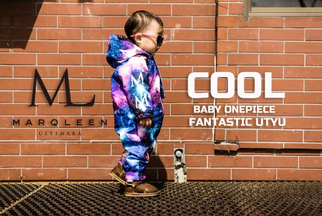 マークリーン(MARQLEEN)BABY ONE PIECE カラー:FANTASTIC UTYU 18-19モデル