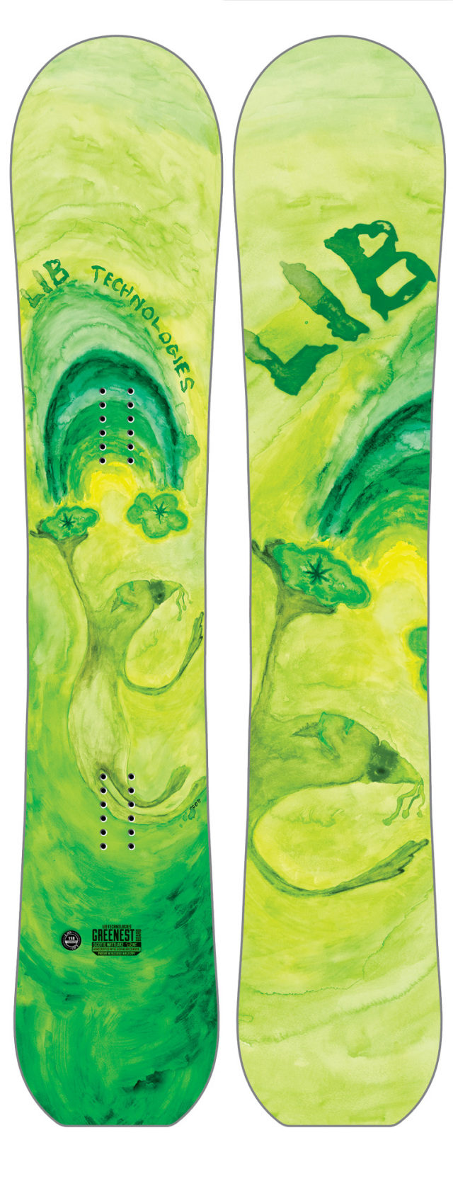 LIB-TECH WORLD'S GREENEST BOARD HP <C3BTX> -SCOTT E WITTLAKE PRO MODEL 16-17NEWMODEL!! 30%OFF SALE!!