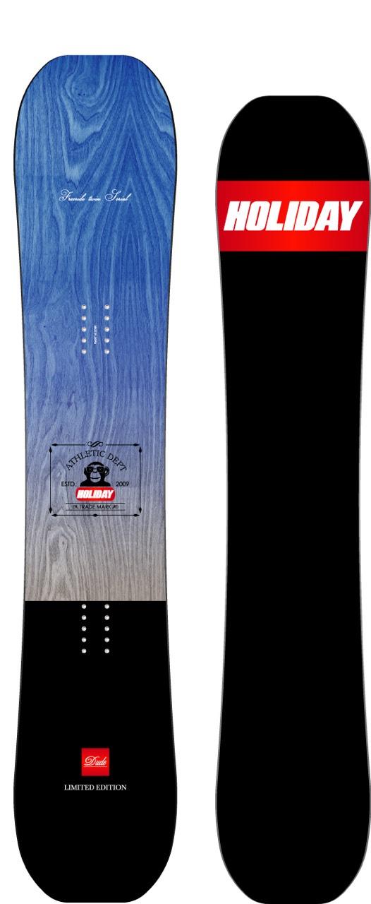 限定1本★早期予約★ホリデー(HOLIDAY)【DUDE FREERIDE TWIN】15-16 スノーボード 2016年