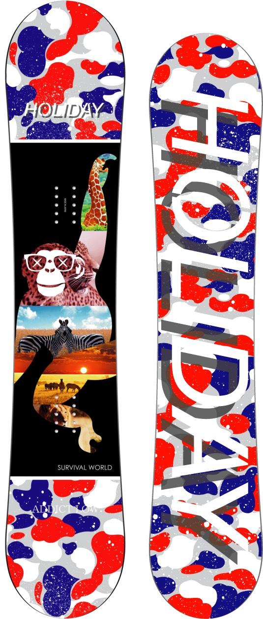 ホリデー(HOLIDAY)【ADDICT】15-16 スノーボード 2016年