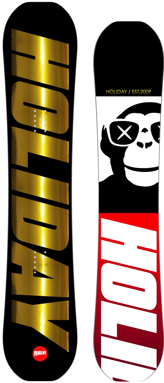 限定1本★スーパーセール★ホリデー(HOLIDAY)【PARKLIFE】15-16 スノーボード 2016年