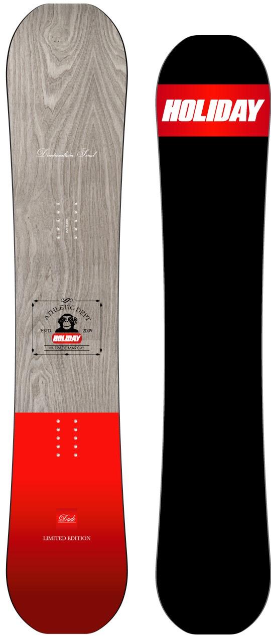 ホリデー(HOLIDAY)【DUDE SERIAL(RED)】15-16 スノーボード 2016年