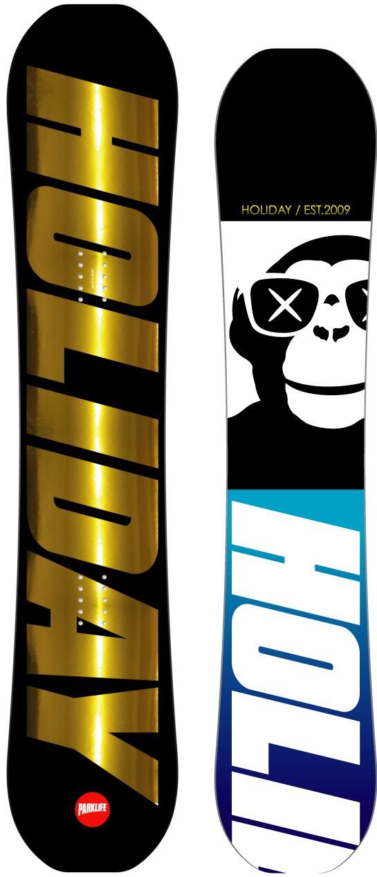限定1本★ホリデー(HOLIDAY)【PARKLIFE】15-16 スノーボード 2016年