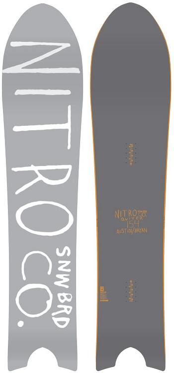 1本限定★NITRO 14-15 大特価!! ナイトロ(NITRO)【THE QUIVER】14-15 スノーボード