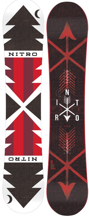 各サイズ1本★NITRO 14-15 大特価!! ナイトロ(NITRO)【FATE】14-15 スノーボード 2015年