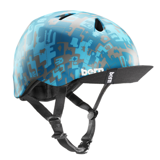 バーン(bern) NINO デザイン性、安全性も兼ね備えているキッズ用の男の子モデル