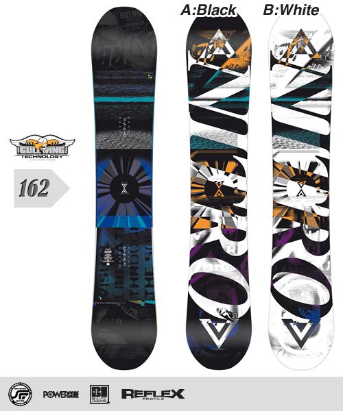 NITRO[ナイトロ]【TEAM SERIES GULLWING】スノーボード 2013年モデル 162cm
