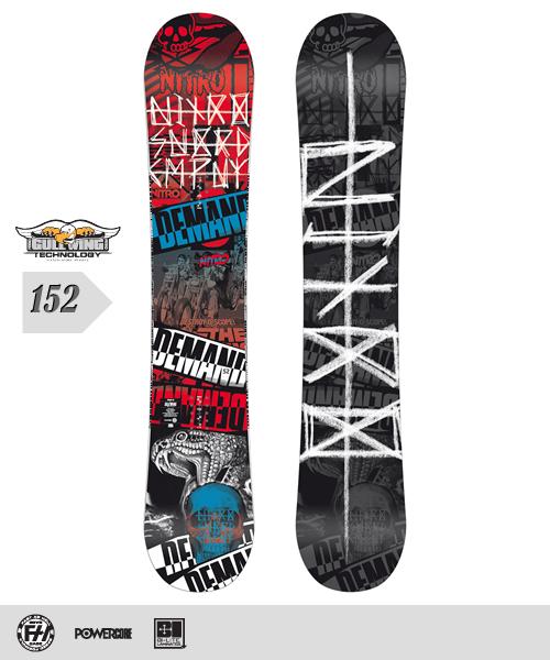 NITRO[ナイトロ]【DEMAND】スノーボード 2013年モデル 152cm