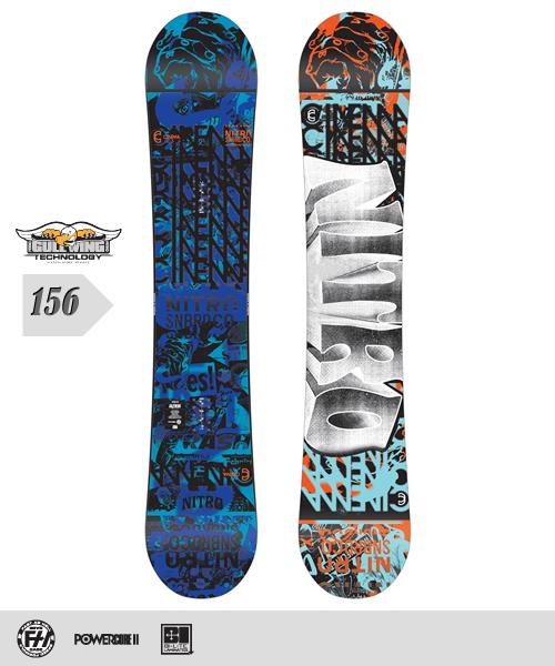 NITRO[ナイトロ]【CINEMA】スノーボード 2013年モデル 156cm
