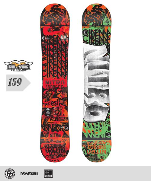 NITRO[ナイトロ]【CINEMA】スノーボード 2013年モデル 159cm